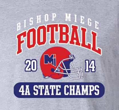State Football Championship Gear! Order Now!