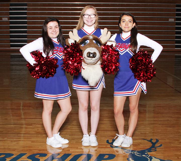 Bishop Miege Cheerleading And Mascot